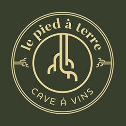 Logo de la cave à vins Le Pied à Terre